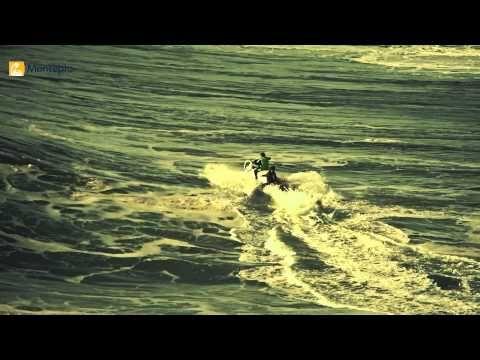 As maiores ondas do mundo / The biggest waves in the world - via Montepio Mare Nostrum | The North Canyon in Praia do Norte in Nazaré, Portugal is the dream of the greatest surfers, who aspire to surf the biggest wave in the world... | O Canhão da Nazaré na Praia do Norte é o sonho dos maiores surfistas do mundo, que ambicionam surfar a maior onda do mundo... #Portugal