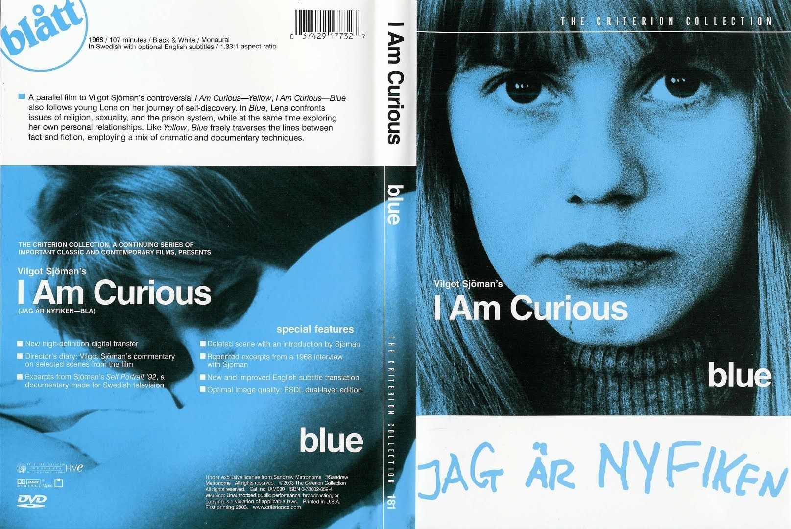 I Am Curious Blue 1968 Free Full Films English Subtitles The Same Movie With The Same Characters Cast And Crew As I Am Curious Yellow