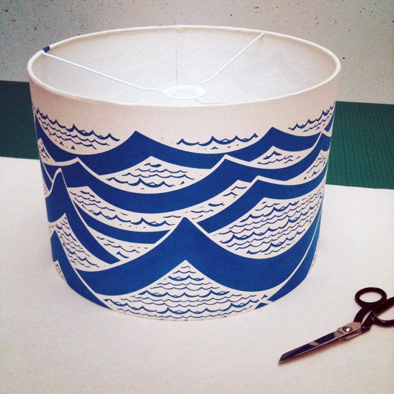 Lampshade Kit with Hand Printed Fabric Choose by sarahwaterhouse, £30.00