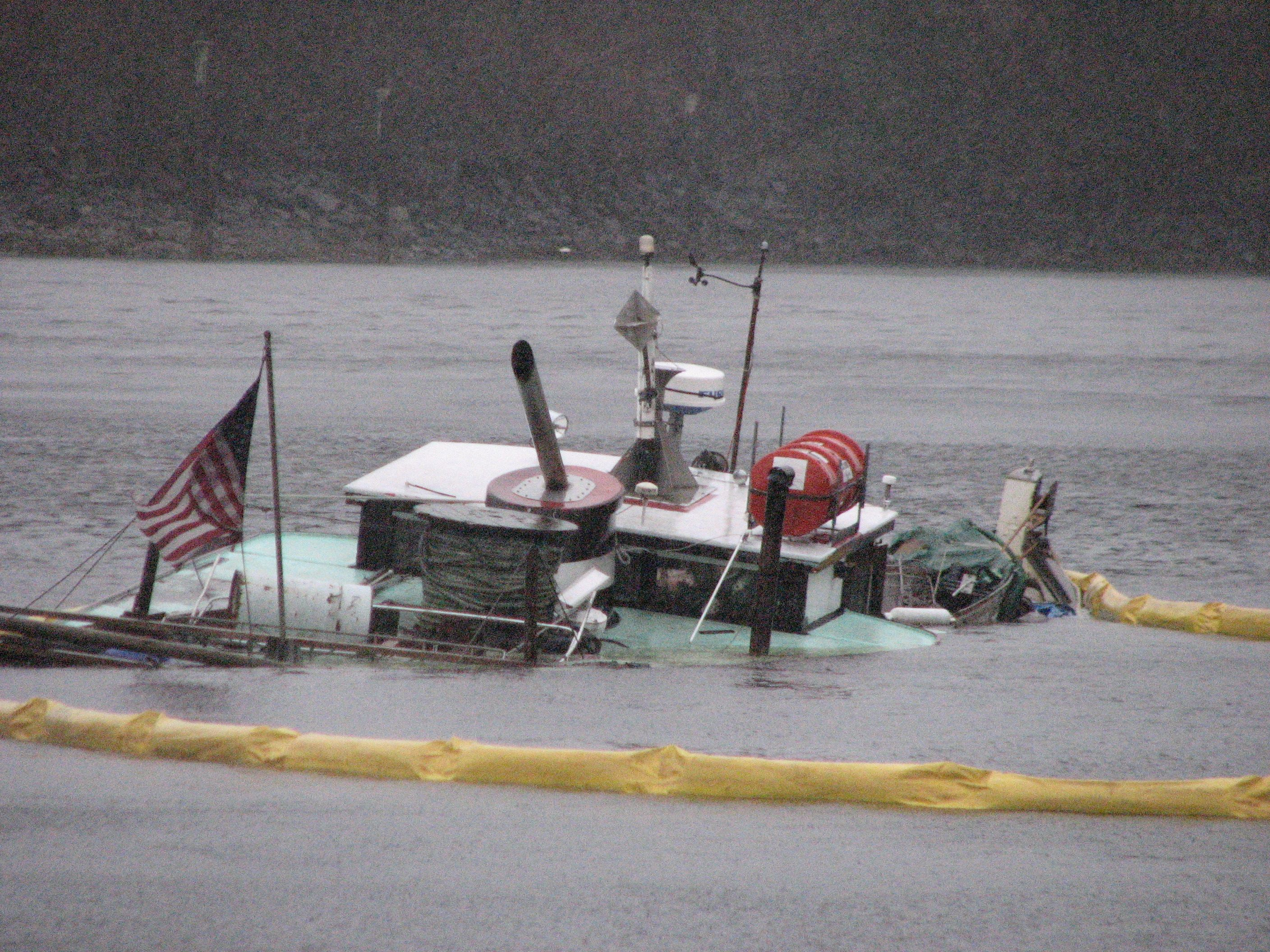 CG Marine Safety Detachment Ketchikan responded to the