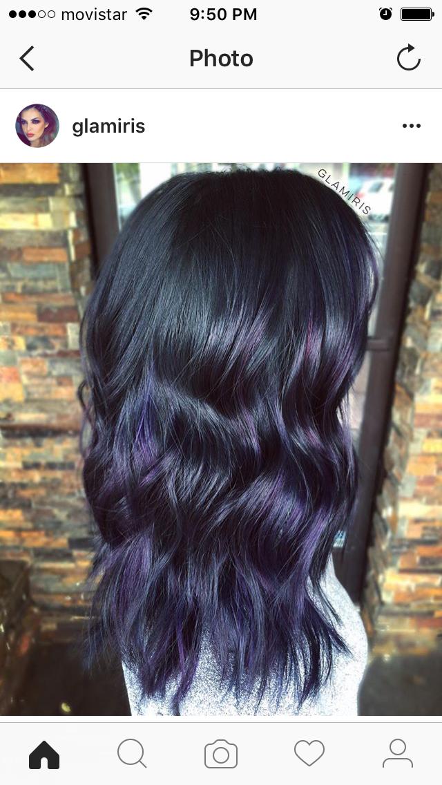 Subtle Purple Hair Color Asian Asian Hair Subtle Hair Color