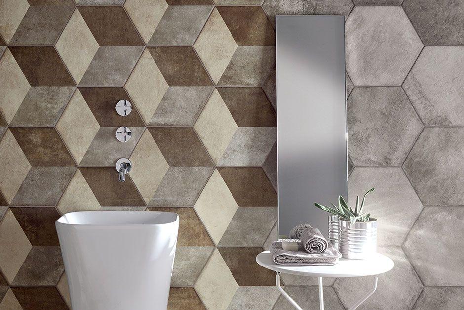 Carrelage de salle de bain Occitanie Texture 2 PORTO VENERE - Photo Faience Salle De Bain
