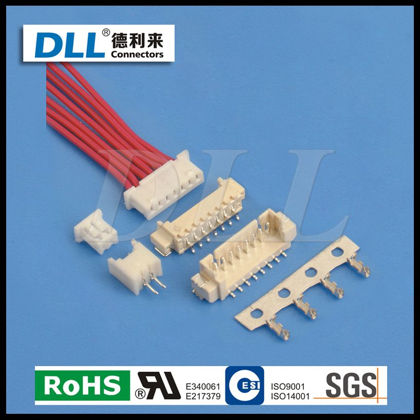 MH 1.25MM Pitch Connector Wire to Board 2 PIN 3PIN 15PIN | alibaba ...