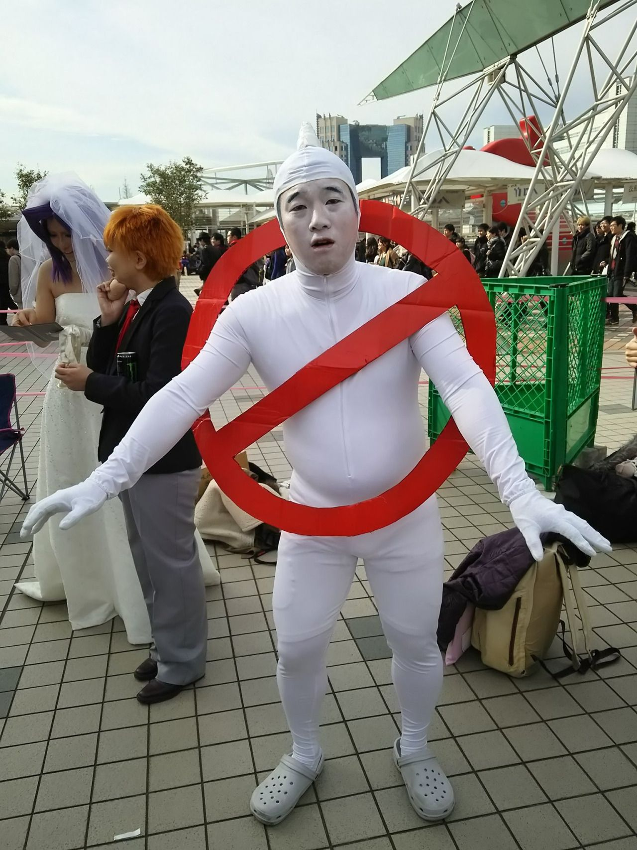 He Said He Was Going To Do A Ghostbusters Cosplay