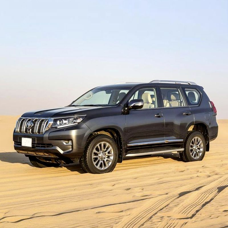 Drive 😎 the Toyota Prado 🚙 in Dubai for only AED 299/day