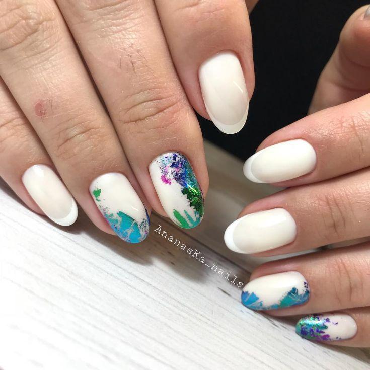 50+ Nail Art Transfer Foil 2018 | Маникюр | Pinterest | Transfer ...
