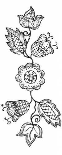 Embroidery Patterns by Amarna IMAGES, approx. 68 images