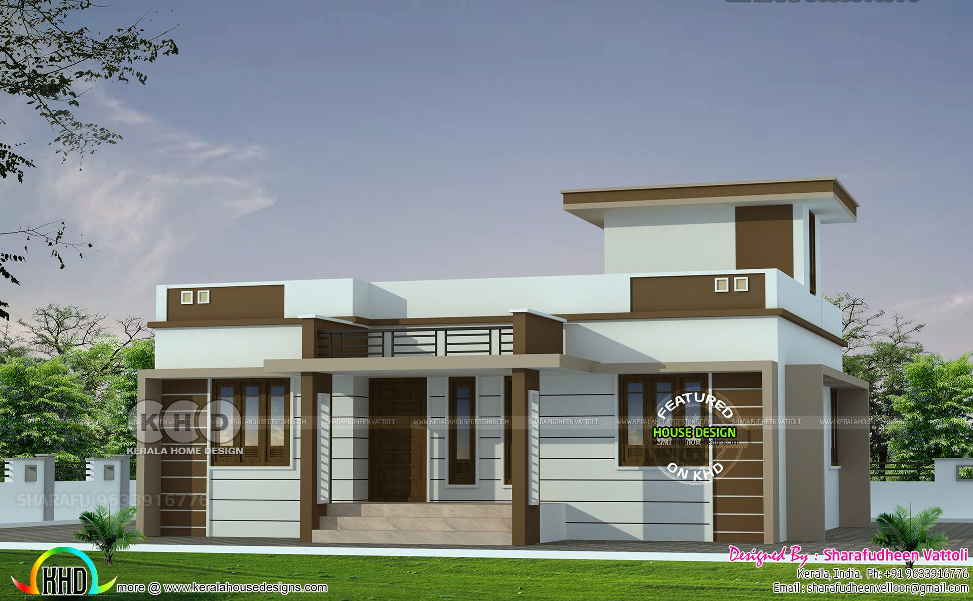 3 Bhk In 1086 Sq Ft Budget Home Design In 2019 House