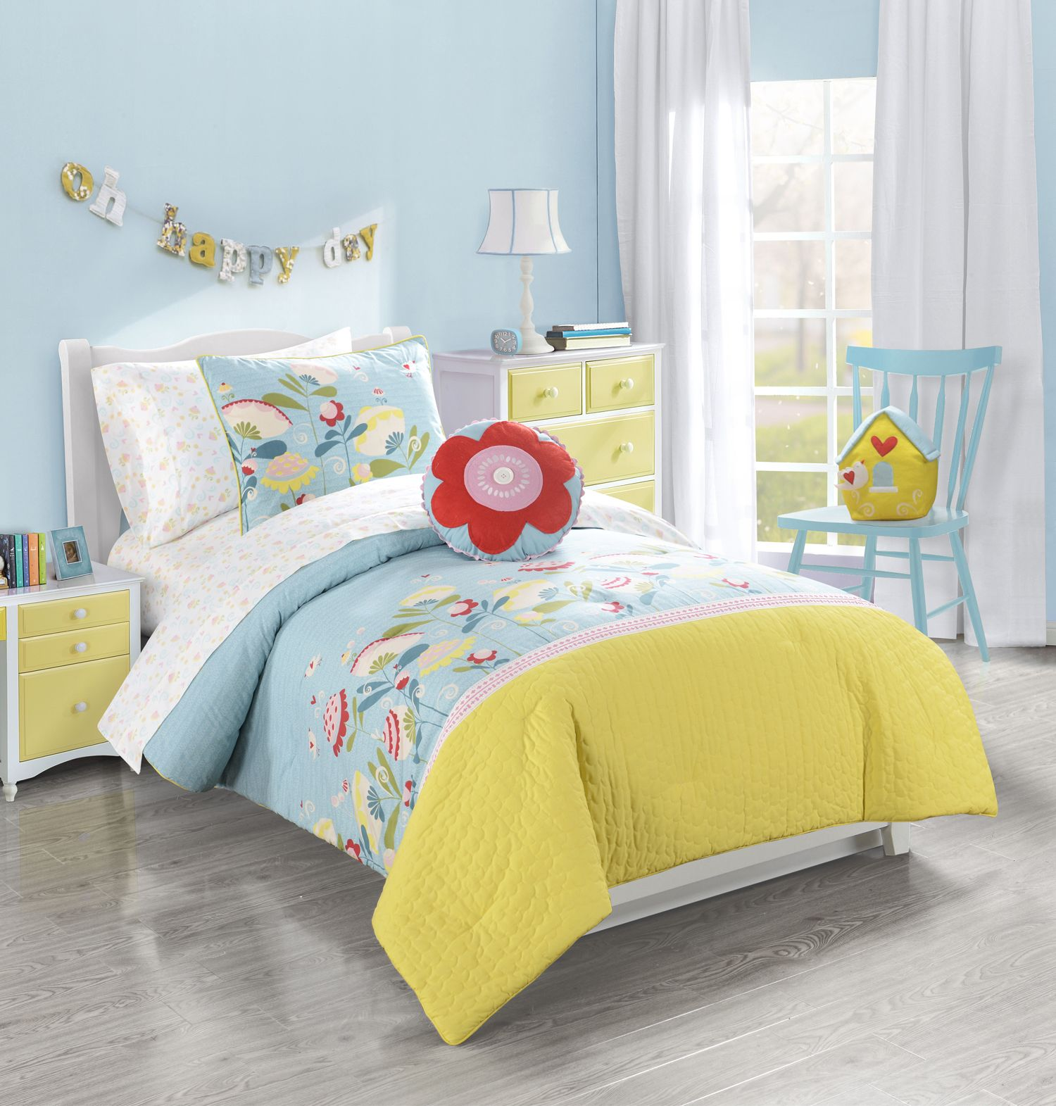Frank + LuLu\'s Happy Valley girls bedding collection is sure to ...