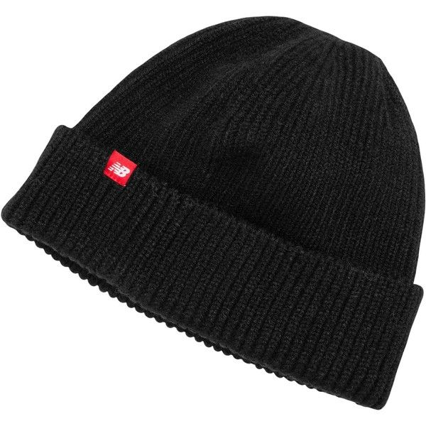 f37afc67925e9 New Balance 500245 Men s Watchman Winter Beanie (34 SGD) ❤ liked on  Polyvore featuring men s fashion