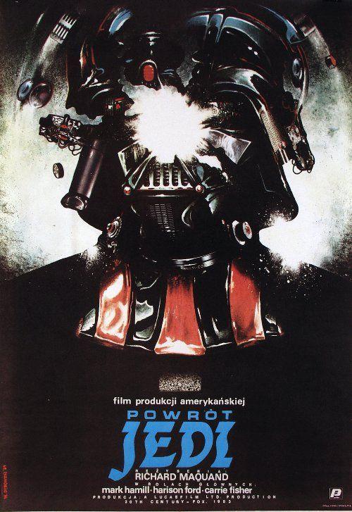 Return Of The Jedi Polish Movie Poster Polskie Plakaty