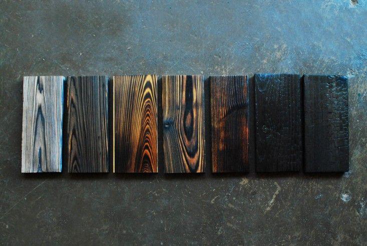 Remodeling 101 Shou Sugi Ban Charred Wood Remodelista Burnt Wood Finish Charred Wood Siding Charred Wood