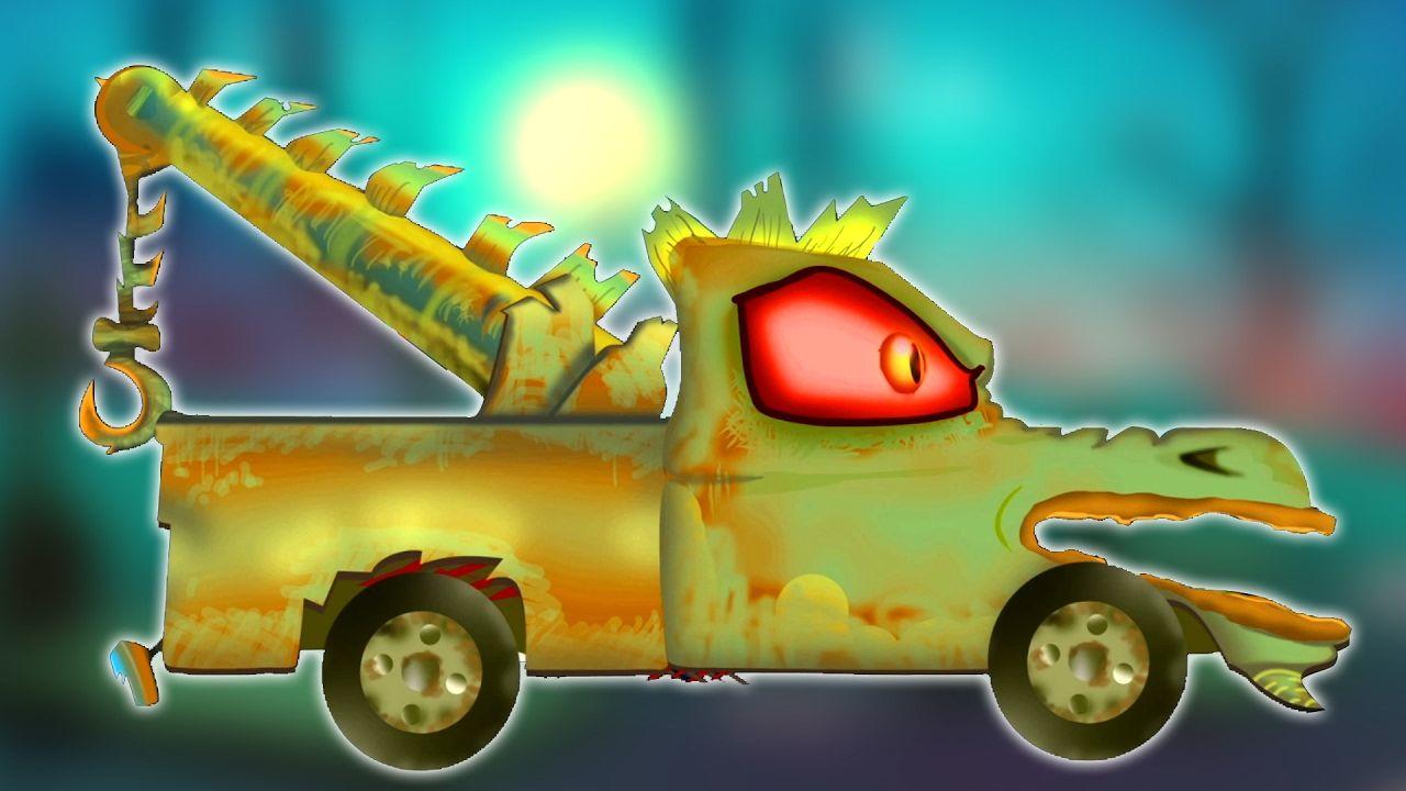Menakutkan Di Tow Truk Halloween Lagu Halloween Songs Vehicles For Lagu Truk Truk Derek