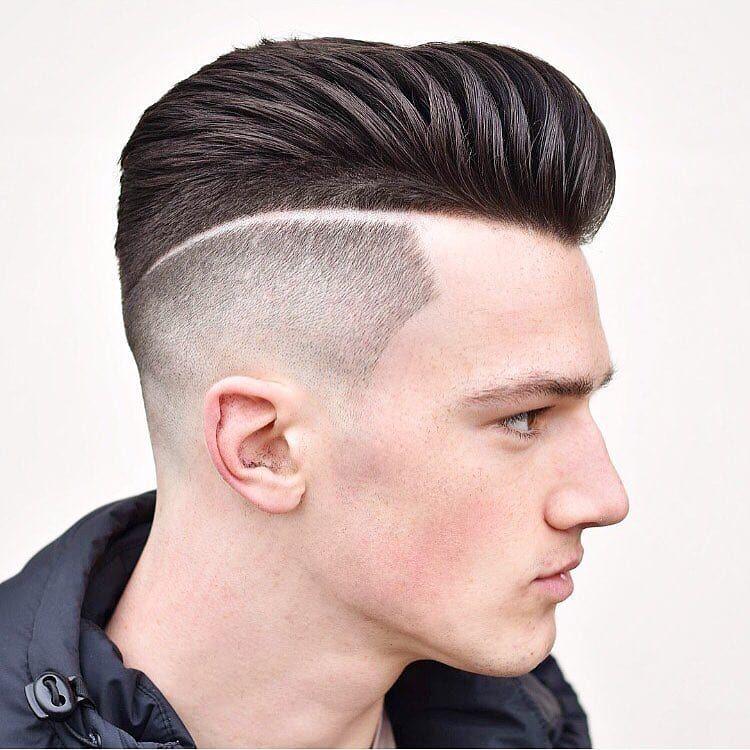 70 Skin Fade Haircut Ideas Trendsetter For 2019 High Fade Haircut Pompadour Haircut Fade Haircut