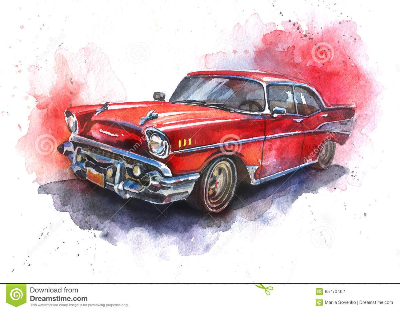 Bilderesultater For Watercolor Paintings Of Cars Car Painting Car Tattoos How To Draw Hands