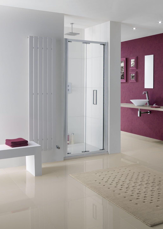 Bergen Bifold Door  Shower Enclosures  Shower Enclosure Unique Designer Bathroom Store Decorating Design