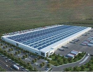 4100 Express Ave Shafter Calif Central Valley Roof Solar Panel Wonder