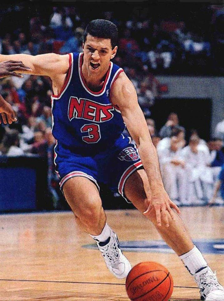 sports shoes 6f01e 7ae75 Drazen Petrovic New Jersey Nets | Brooklyn/New York/New ...