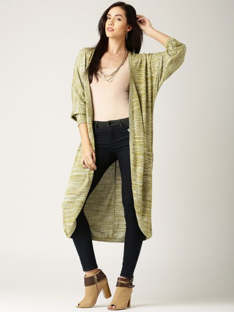 a893dc61c Buy All About You By Deepika Padukone Olive Green Shrug - Shrug for Women    Myntra