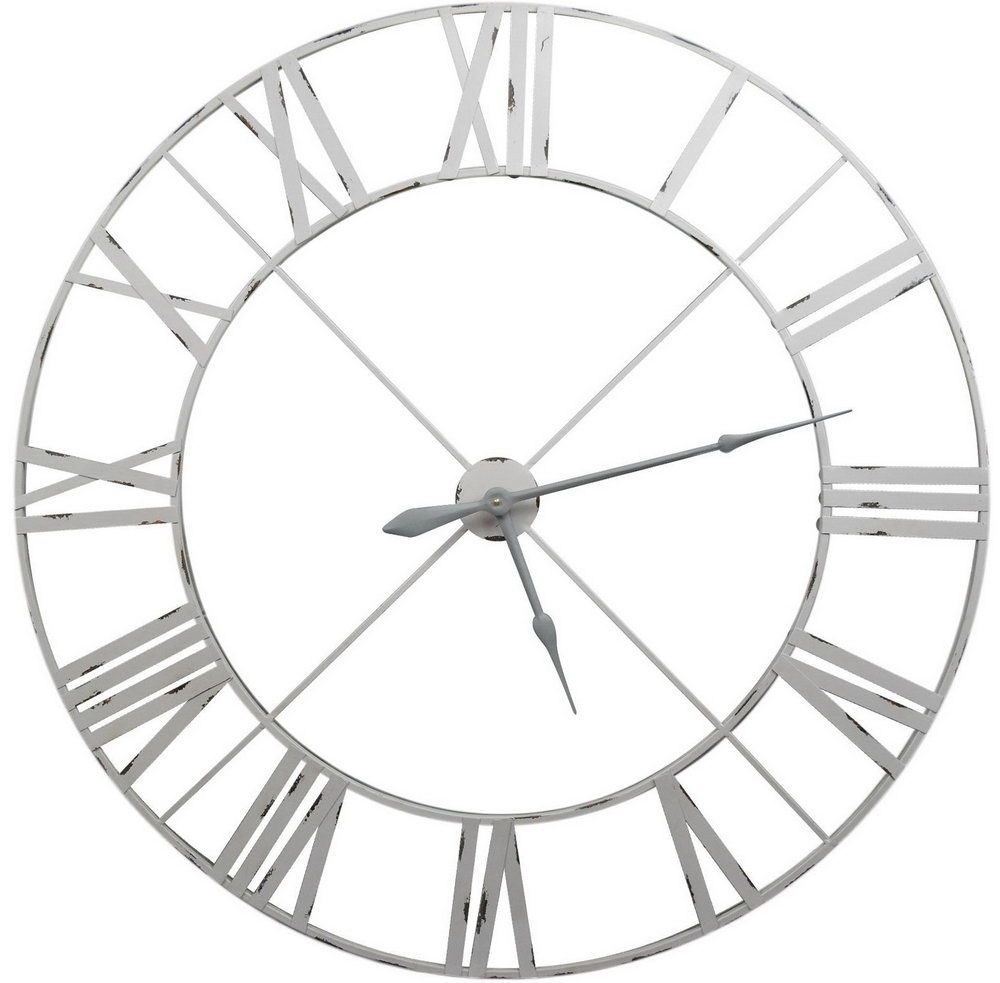 Extra Large White Wall Clock