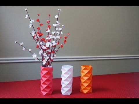 Photo of How to make a paper vase sleeve