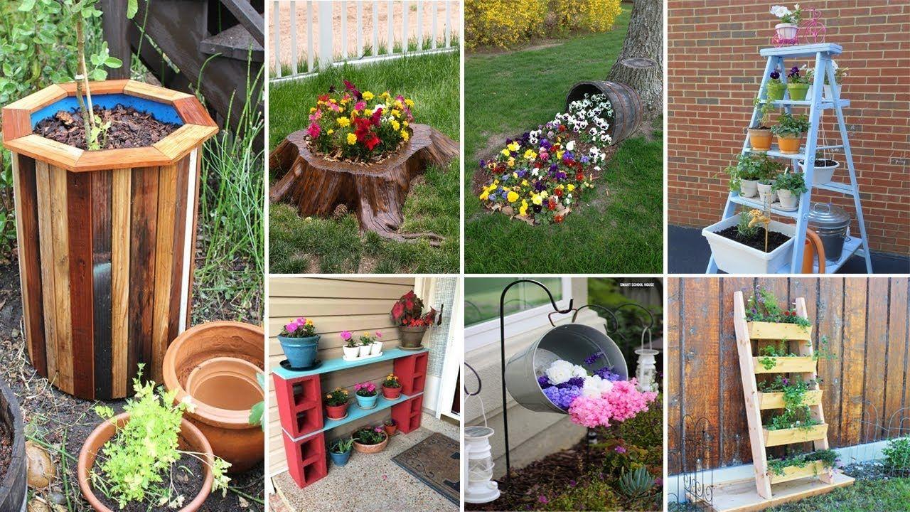 120 Cheap And Easy Diy Garden Ideas Diy Garden Projects Diy Garden Garden Crafts Diy