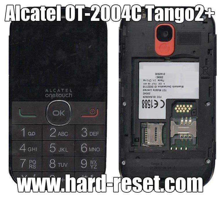 Alcatel OT-2004C hard reset | hard reset | Phone, Blackberry