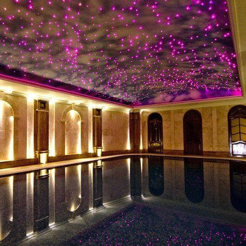 Easily Create A Cosmic Star Ceiling Stepbystep Guide Will Teach - Fiber optic bedroom lighting