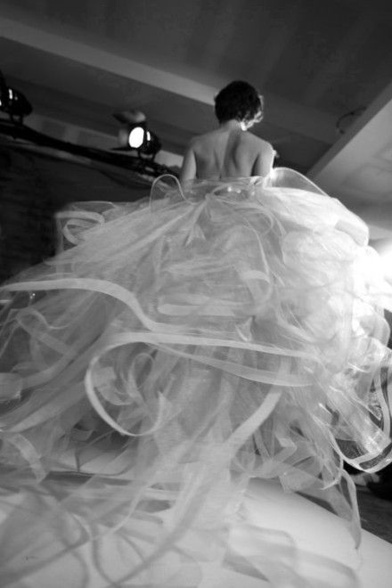 informal princess wedding dress