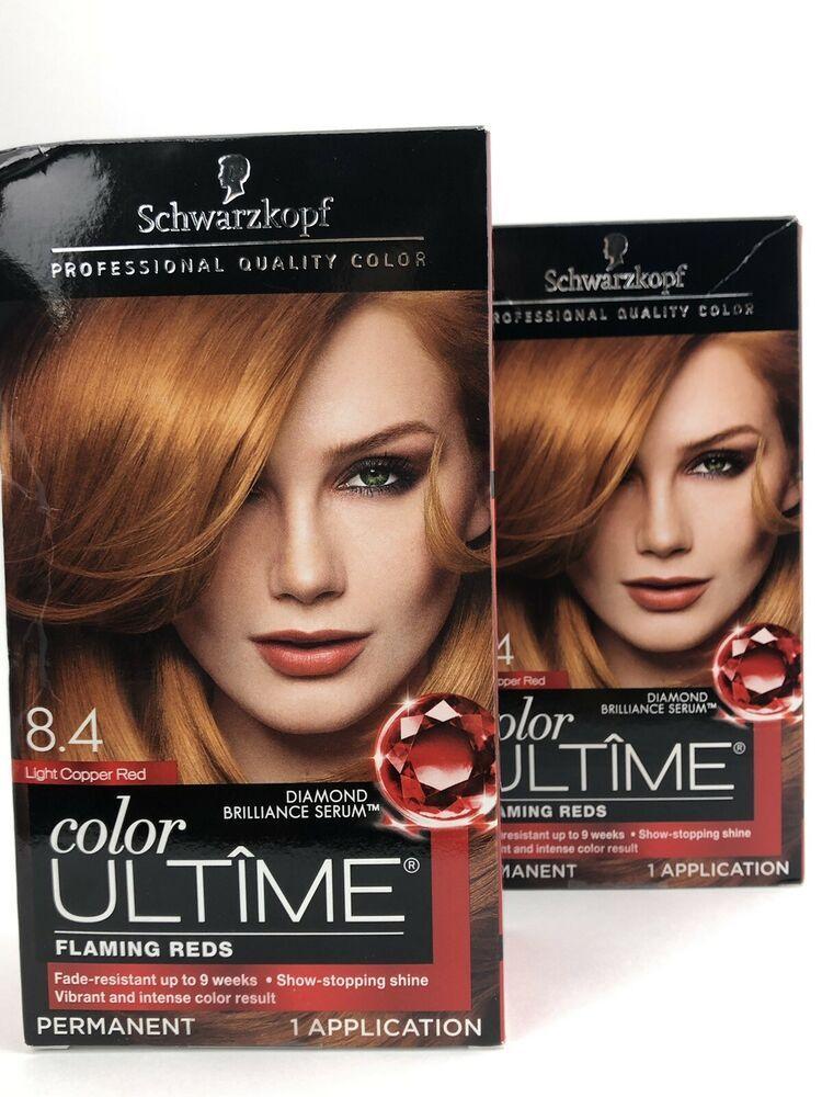 Schwarzkopf Ultime Hair Color Cream Light Copper Red 8 4 Schwarzkopf In 2020 Schwarzkopf Color Ultime Hair Color Cream Schwarzkopf Hair Color
