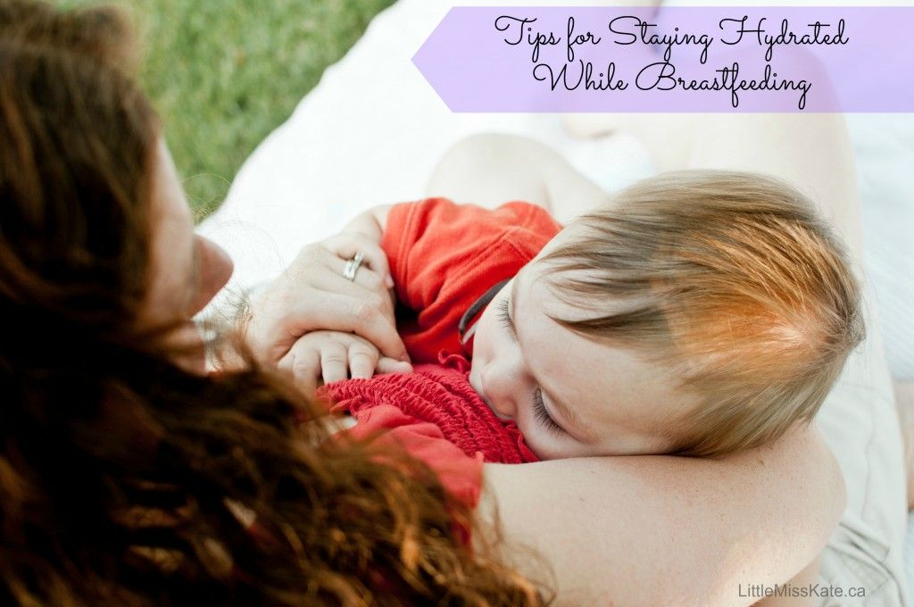 tips for staying hydrated while breastfeeding - especially important during the summer