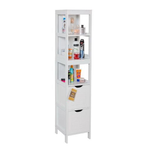ashmore x freestanding tall bathroom cabinet