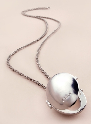 aeb0dd54 Chloe solid perfume necklace Lilac and Grey. She'd love this so much ...