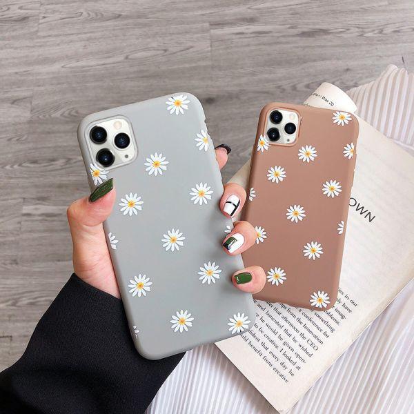 Moskado Art Floral Daisy Phone Case For
