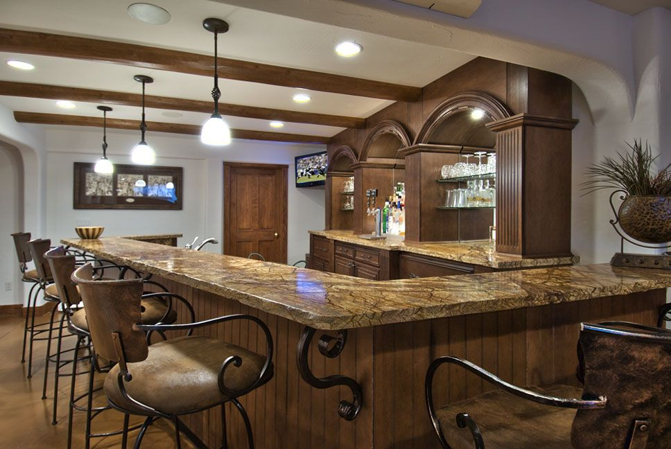Unique Decorate A Home Bar