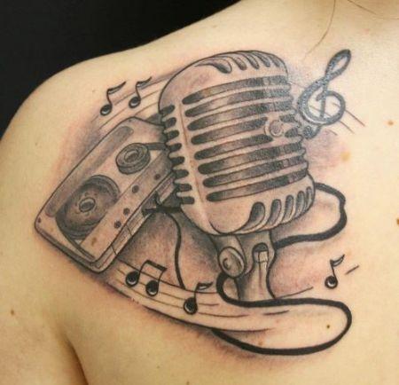 musik kasette mikrofon