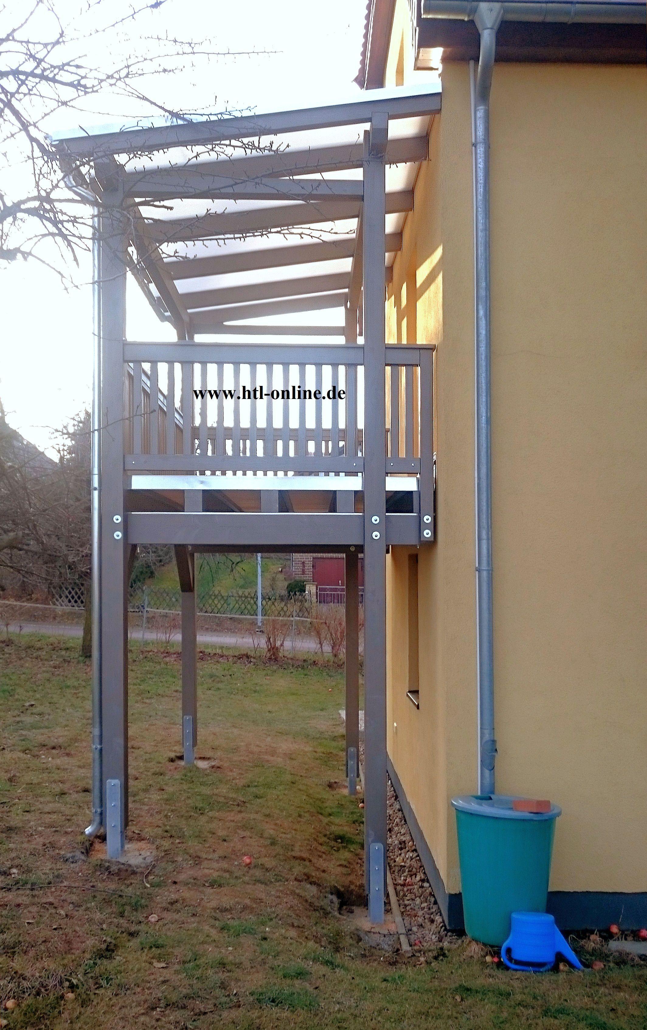 Balkon Aus Holz Htl Holztechnik Holz Arbeit Mit Holz Balkon