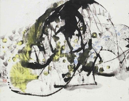 Lee Chung-Chung A First Time A 2003 Ink and Color on Paper  35×45cm