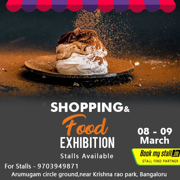 shopping food exhibition 8th 9th mar 2018 from 09 00 am 04