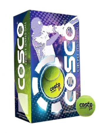 Cosco Cricket Tennis Balls Pack Of 3 In Rs 299 Cricket Balls Tennis Balls Bat Online