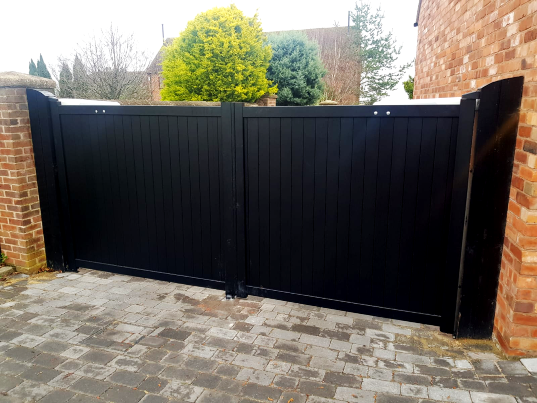 4 Things To Know Before You Install Home Security Gates Gate Double Swing Security Gates