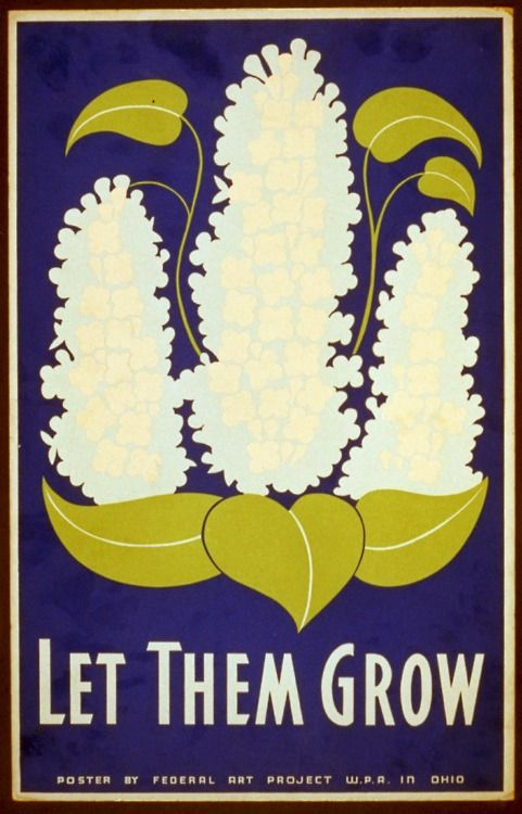 """""""Let Them Grow"""" Federal Arts Project (1938). Conservation of natural resources, Ohio."""
