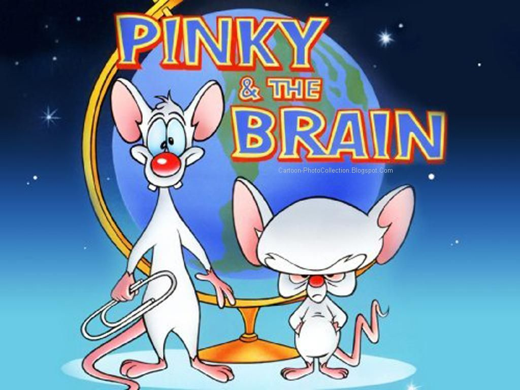Pinky And Brain Are Chased By An Alien That Eats Brains