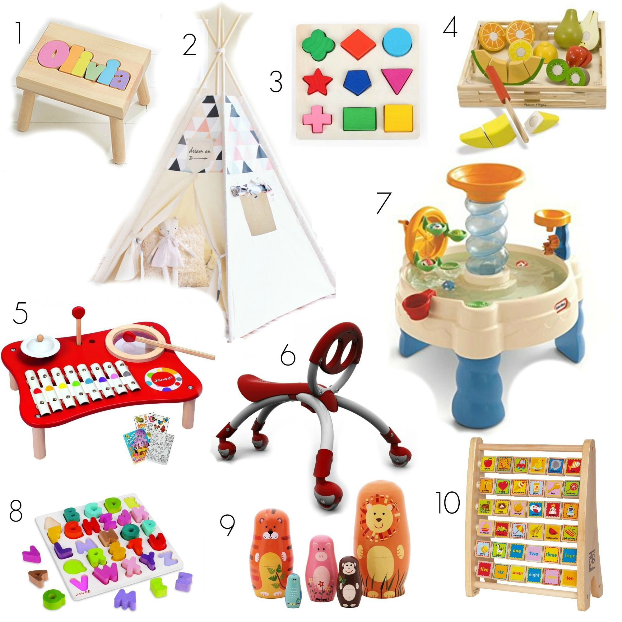First birthday gift ideas that are fun, cute, and educational. And ...