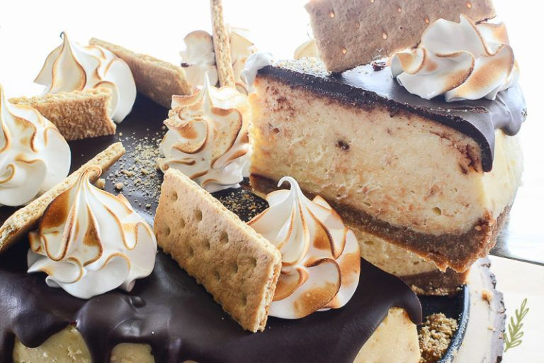 S'mores Cheesecake   Recipe (With images)   Cheesecake ...