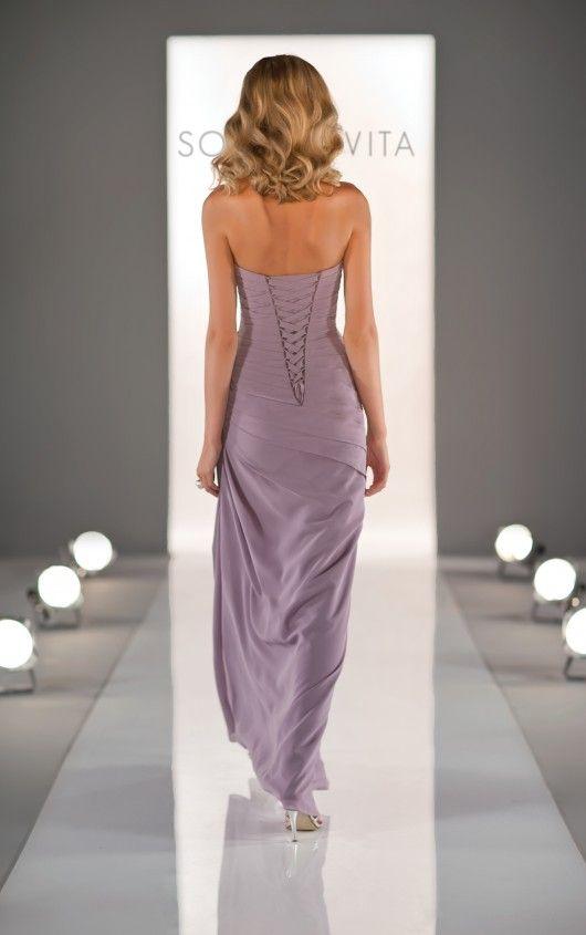 8290 Lavender Bridesmaid Dresses by Sorella Vita