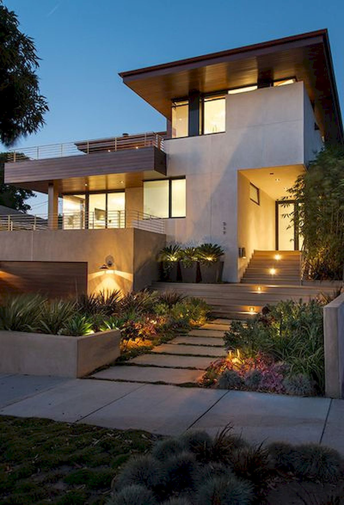 90 Simple And Beautiful Front Yard Landscaping Ideas On A Budget 68 Facade House Minimalist House Design Architecture House