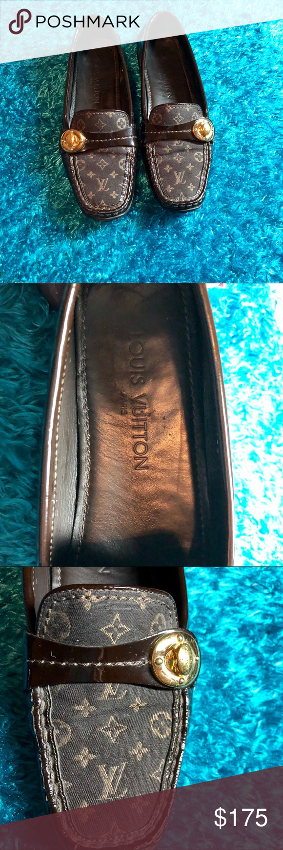 Louis Vuitton Loafers Louis Vuitton loafers Size 36 1/5 ...