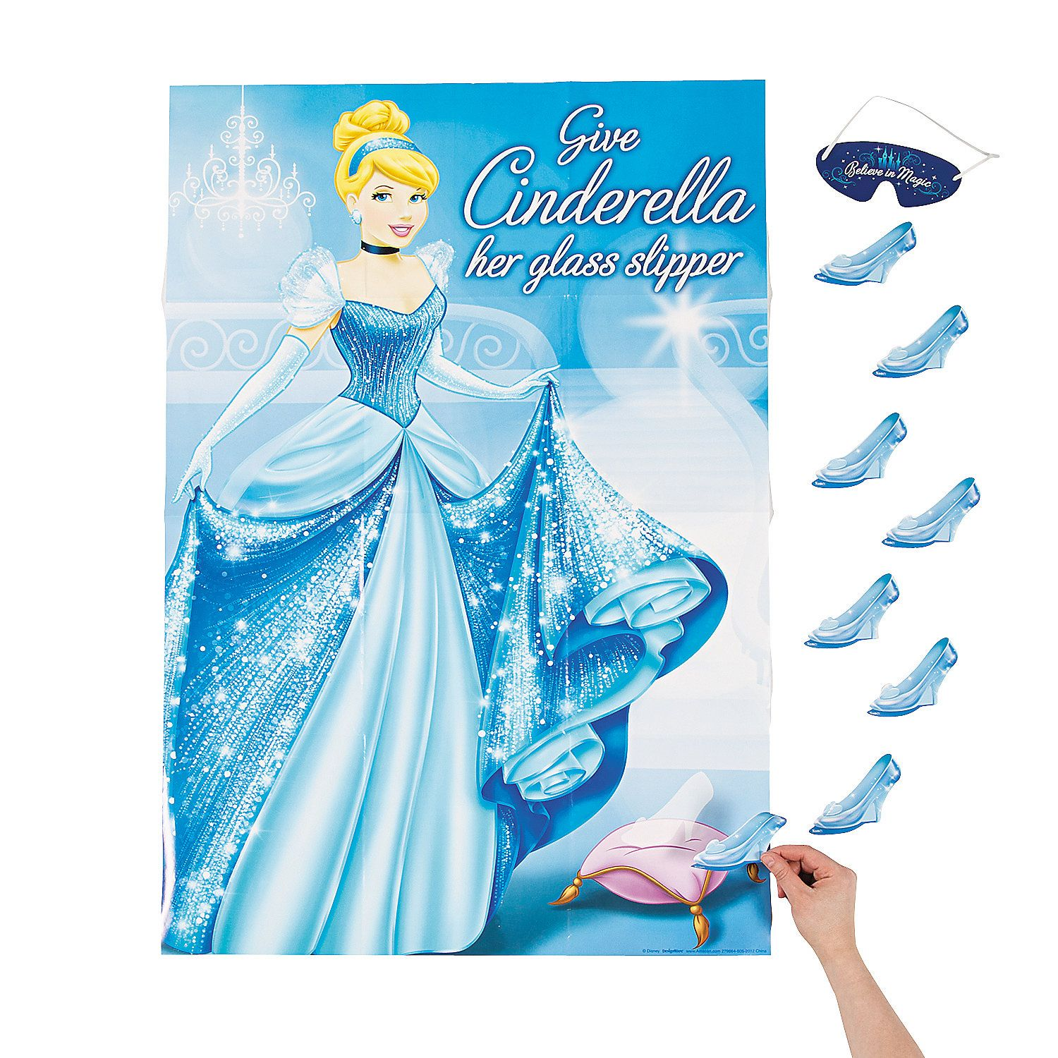Cinderella Sparkle Party Game Orientaltrading Com Gianna S 4th