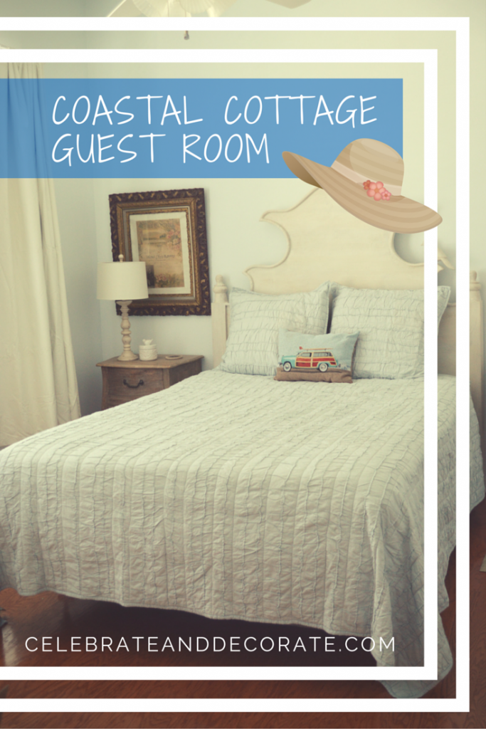 a pretty cottage guest room takes shape coastal cottage room